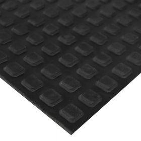 """Gummi-Bodenbelag """"Grip"""" für Pferdeanhänger - 8 mm - 120 x 1000 cm - 12m² Rollenware - Extra griffig für Tier-Anhänger"""