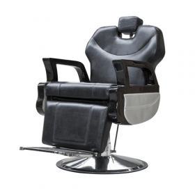 Friseurstuhl Barber Chair – Retro – Schwarz