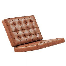 Polsterauflage - Vintage Braun - Kissenset Barcelona Chair