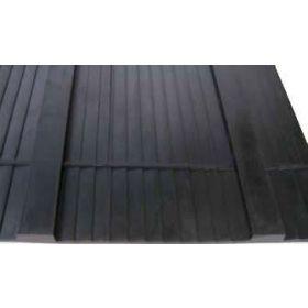 Rampenmatte für Pferde-Anhänger 155x175 cm