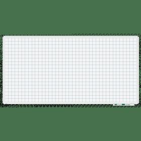 Whiteboard mit Karo 5x5cm - magnetisch - 100x200 cm