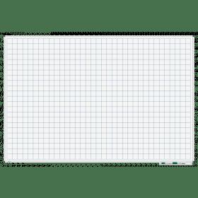 Whiteboard mit Karo 5x5cm - magnetisch - 120x180 cm