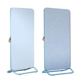 Chameleon Mobile doppelseitiges Whiteboard/Pinnwand - 89 x 192 cm - Blau
