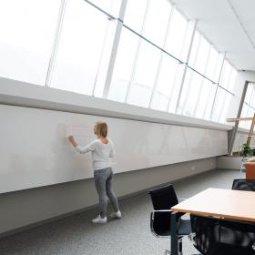 Chameleon Modular whiteboard wandpaneel 88x118 cm
