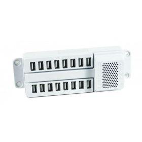 NoteSync Lite U15 - 15-Port USB-Lade- & Synchronisationseinheit - 15 x 2,1 A - 180W