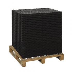 Rasengitter J50 - Kunststoff - Stecksystem - Schwarz - 60m² Palette - Schwerlast-Eignung