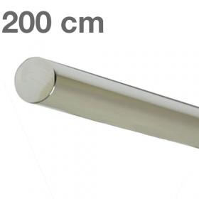 "Edelstahl-Treppengeländer - ""poliert""  -  200 cm"