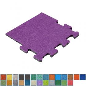 EPDM-Fallschutzmatte - Puzzle-System – Seitenstück Wunschfarbe