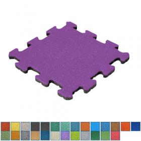 EPDM-Fallschutzmatte - Puzzle-System - Mittelstück - 50x50cm - 50mm - UV-fest