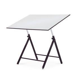 Verstellbarer Zeichentisch - 80 x 120 cm - Klappbar - Einstellbar in Höhe & Winkel - Rocada