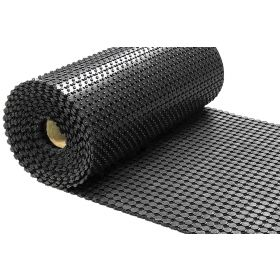 Gummi-Ringmatte - Meterware - 10 mm - 183 cm - Sehr breit & antirutsch