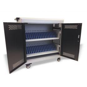 Tabletwagen - Safecart 36 PRO+ - Moderne Lagerung in Top-Ausstattung - Auch für Surface