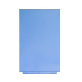 Magnettafel Blau ohne Rahmen
