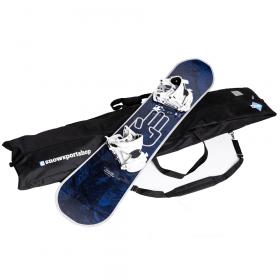 Wasserabweisende Snowboard-Tasche von Snowsportshop - 180 x 40 x 16 cm - Gepolstert und mit Tragegriffen/-gurt