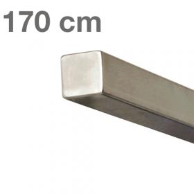 """Edelstahl-Treppengeländer - """"vierkant"""" - 170 cm"""