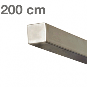 """Edelstahl-Treppengeländer - """"vierkant"""" - 200 cm"""