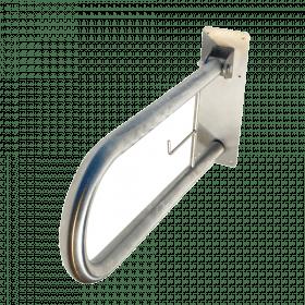 Edelstahl-Toilettengriff - Klappbar - 60 cm - Langer, hygienischer Senioren-Stützklappgriff