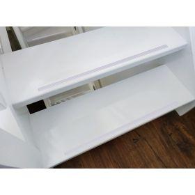 Antirutsch-Klebeband - 13,5 mm - Rolle 15m - Weiß - Rutschhemmend & selbstklebend für die Treppe