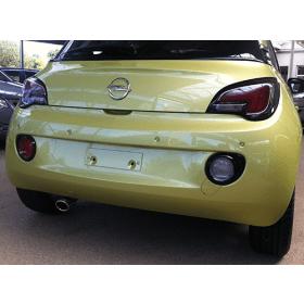 Auspuffblende - Opel Adam - Edelstahl