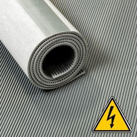 VDE-Isoliermatte - 50000 Volt - 4,5 mm - 120 cm - Meterware - Grau - ROHS & REACH