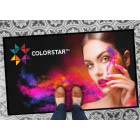 full color foto op deurmat