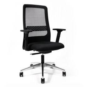 Bürostuhl Prosedia W8RK Net - mit Netzbezug - Schwarz - Qualität von Interstuhl®