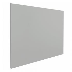 "Whiteboard ""Eco"" – Grau - 100x150 cm - ohne Rahmen - magnetisch"