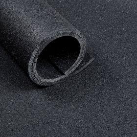 Fitness-Boden – Bodenbelag für Fitnessstudio – 10 mm - 2 m²-Matte - 100 x 200 cm - Anthrazit