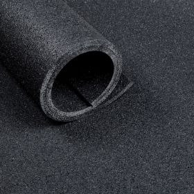 Sportbodenmatte 125 x 200 cm - Dicke 10 mm - Asphaltoptik