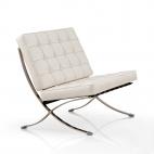 Sessel Barcelona – moderner Klassiker - Weiß