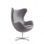 Das Ei – Egg Chair – Designklassiker mit einzigartiger Form - Grau