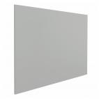 "Whiteboard ""Eco"" – Grau - 80x110 cm - ohne Rahmen - magnetisch"