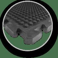 Warm und isolierend durch Luftpolster und dickes Material