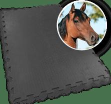 Puzzle-Stallmatte-Pferd